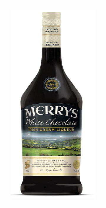 Merry's White chocolate liqueur (rol, 70 × 0.7L)