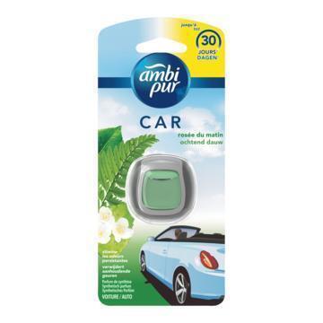 Ambi Pur Auto Ochtend Dauw Clip Luchtverfrisser 1 Eenheid (Stuk, 2ml)
