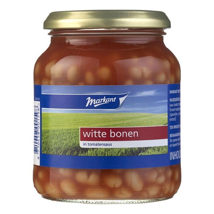 Witte Bonen in tomatensaus (pot, 350g)