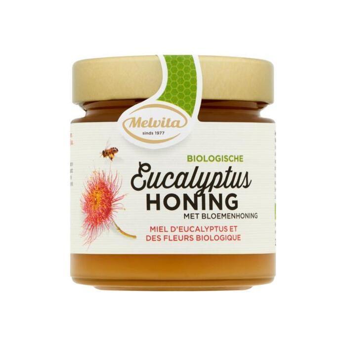 Melvita Biologische Eucalyptus Honing met Bloemenhoning 250 g (250g)