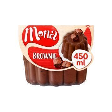 Brownie pudding met echte stukjes koek (Stuk, 45cl)