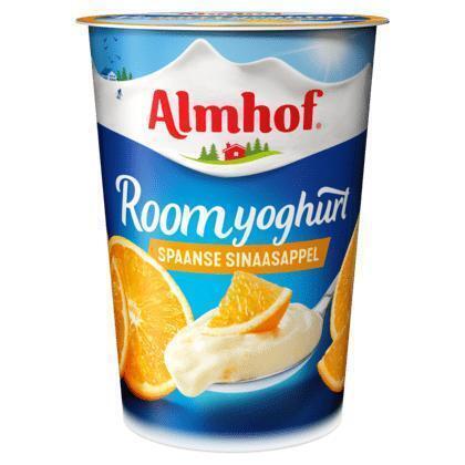 Roomyoghurt Spaanse sinaasappel (Stuk, 500g)