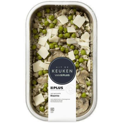 Risotto met oesterzwam en champignon (450g)