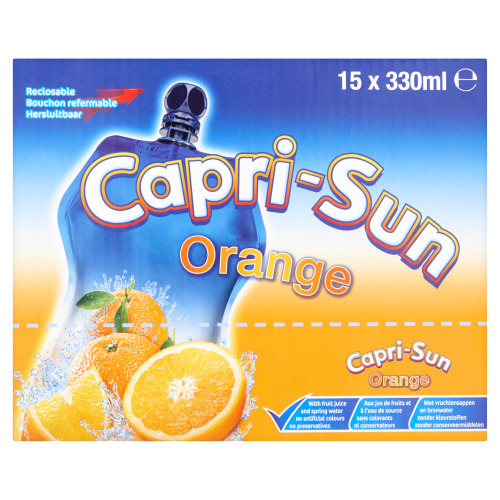 Orange 15 x 330 ml (33cl)