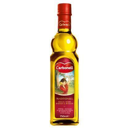 Olijfolie traditioneel (glazen fles, 0.75L)