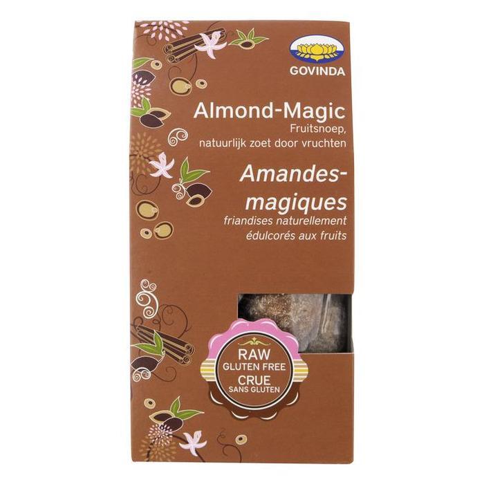 Govinda Almond-magic fruitsnoep (120g)