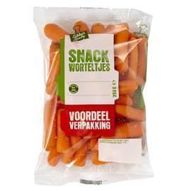 Snack wortels (350g)