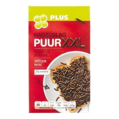 Hagelslag pure chocolade XXL (380g)