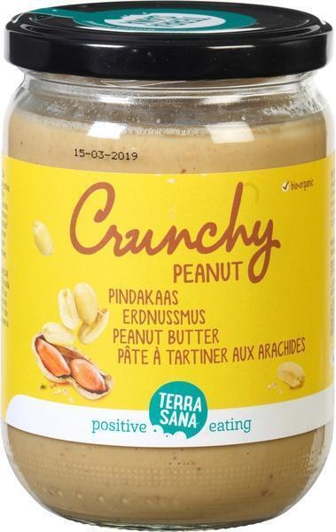 Peanut crunchy (pot, 500g)