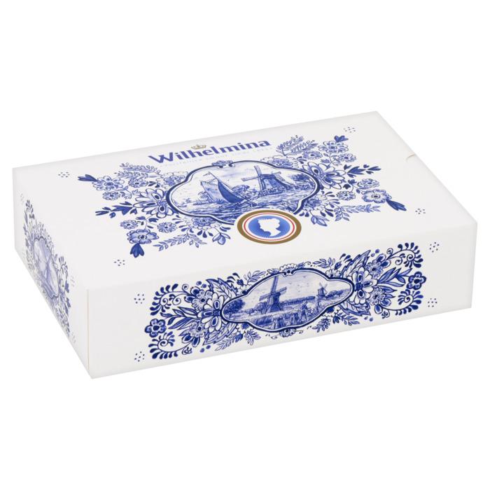 Wilhelmina pepermunt  Giftbox Delfts Blauw 500g (500g)