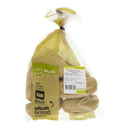 Petit pains tarwe thuisafbak vers 8 st (560g)