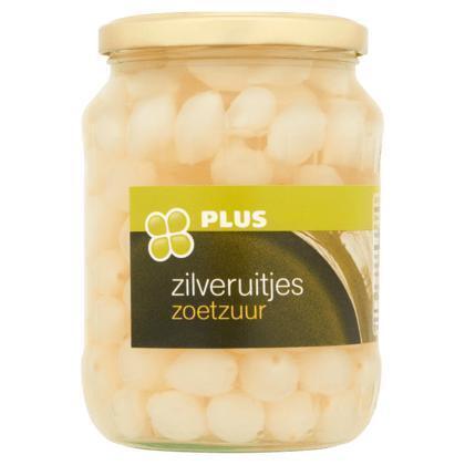 Zilveruitjes, Zoet Zuur (pot, 0.72L)