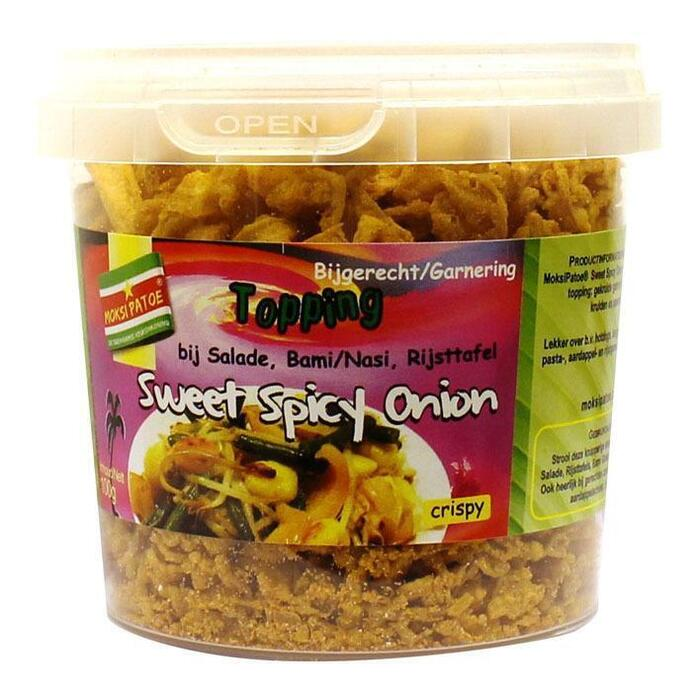 Sweet spicy onion topping (100g)