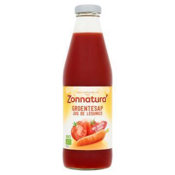 Zonnatura Biologisch groentesap (Stuk, 0.75L)