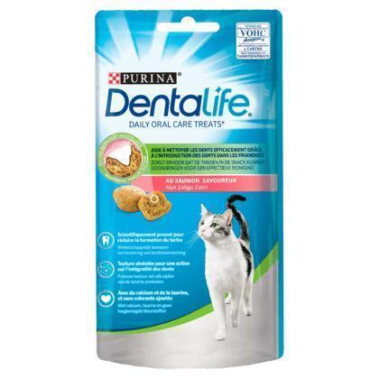 PURINA® DentaLife® Daily Oral Care Kat Zalm 40 g (40g)