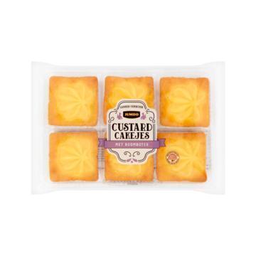 Jumbo Custard Cakejes met Roomboter 240 g (240g)