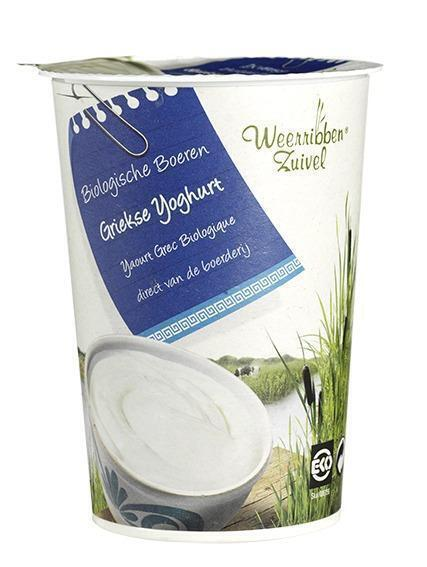 Griekse yoghurt (bak, 500g)