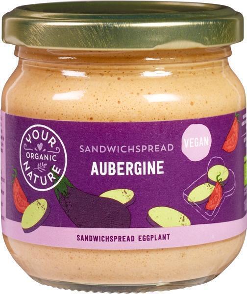 Sandwichspread aubergine (180g)