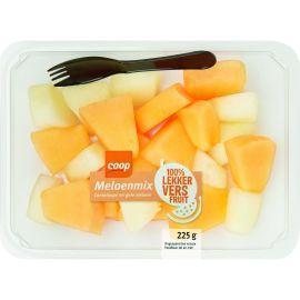 Meloenblokjes mix (225g)
