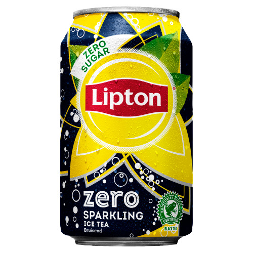 Lipton Ice Tea Sparkling Zero 0.33L 24x (baal, 6 × 33cl)