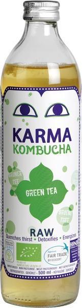 Kombucha green tea (0.5L)