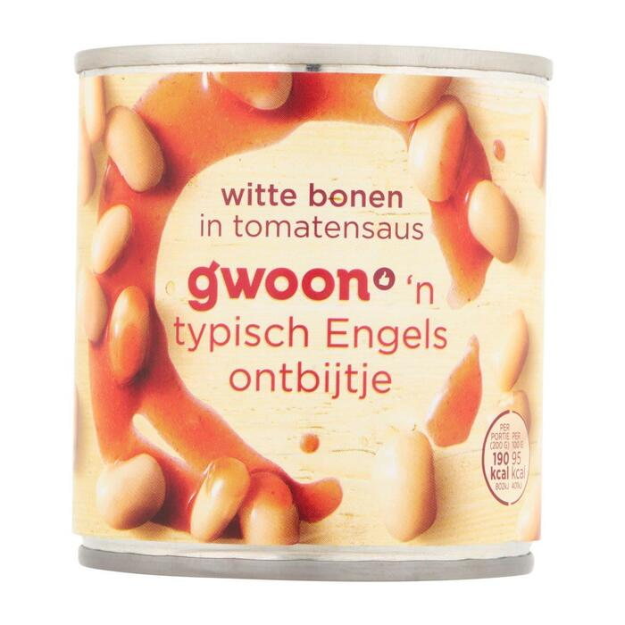 g'woon Witte bonen in tomatensaus (200g)