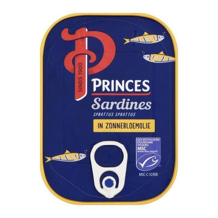 Sardines in zonnebloemolie (blik, 110g)