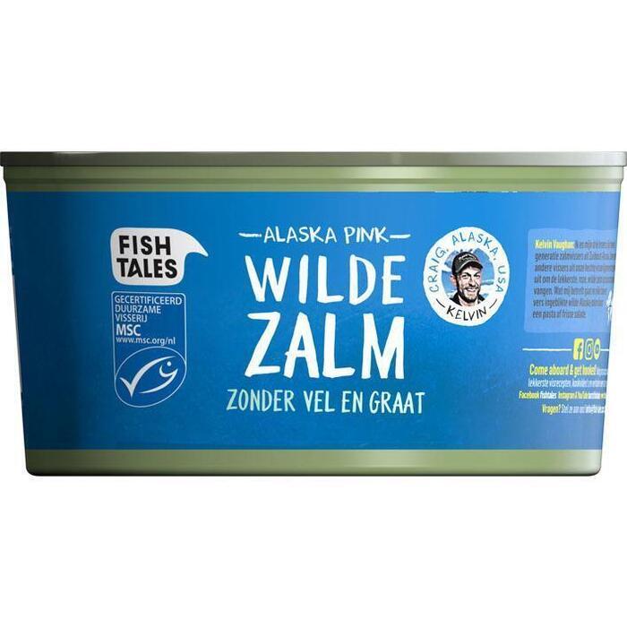 Fish Tales Roze zalm (170g)