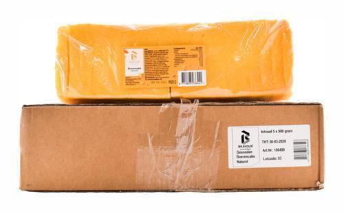 Boerencake naturel gesneden 5x900gr (900g)