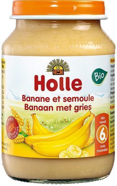 Banaan met gries 6+ (190g)