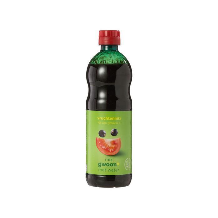 g'woon Siroop vruchtenmix (0.5L)