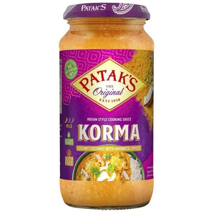 Patak's curry sauce Korma 450g (450g)