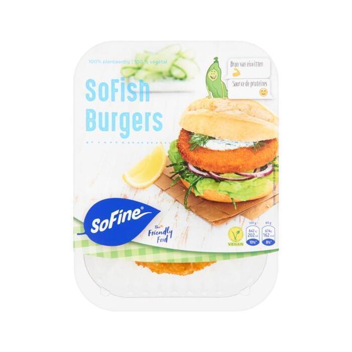 SoFine SoFish Burgers 2 x 80g (2 × 80g)