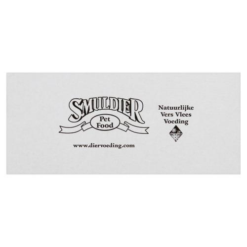 Smuldier Pens/Vlees Kompleet Volledig Diervoeder 12 x 400 g (12 × 400g)
