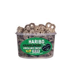 Haribo Drop krakelingen silo (150 × 1.05kg)