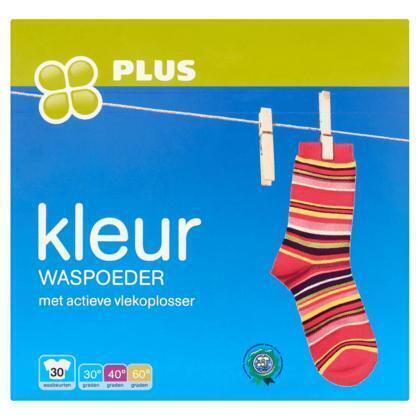 Plus Kleur Waspoeder 2,025 kg (2.02g)