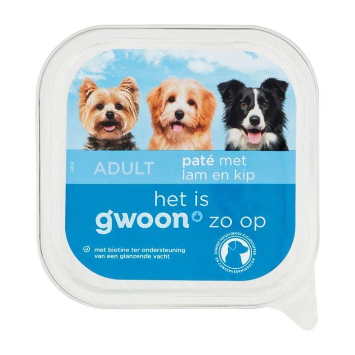 g'woon Adult pate lam & kip (150g)