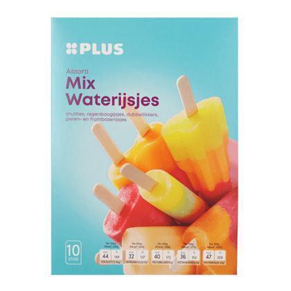 Mix Waterijsjes 10st (0.53L)