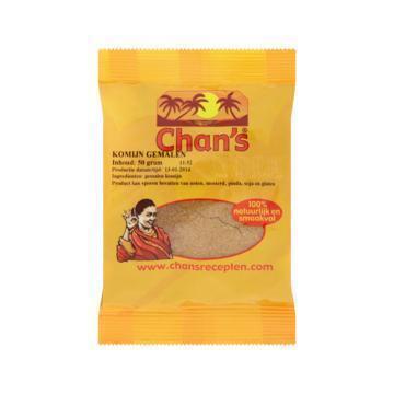 Chan's Komijn gemalen (50g)