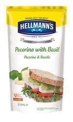 Hellmann's Sandwich Saus Pecorino met Basilicum (5 × 0.57L)