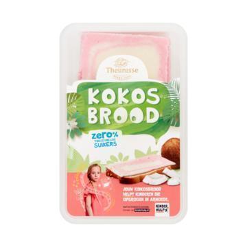 Theunisse Kokosbrood Zero 240 g Tray (240g)