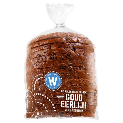 Goudeerlijk Halfje Gesneden Boeren Licht Meerzaden Brood (Vers Ingevroren) (500g)