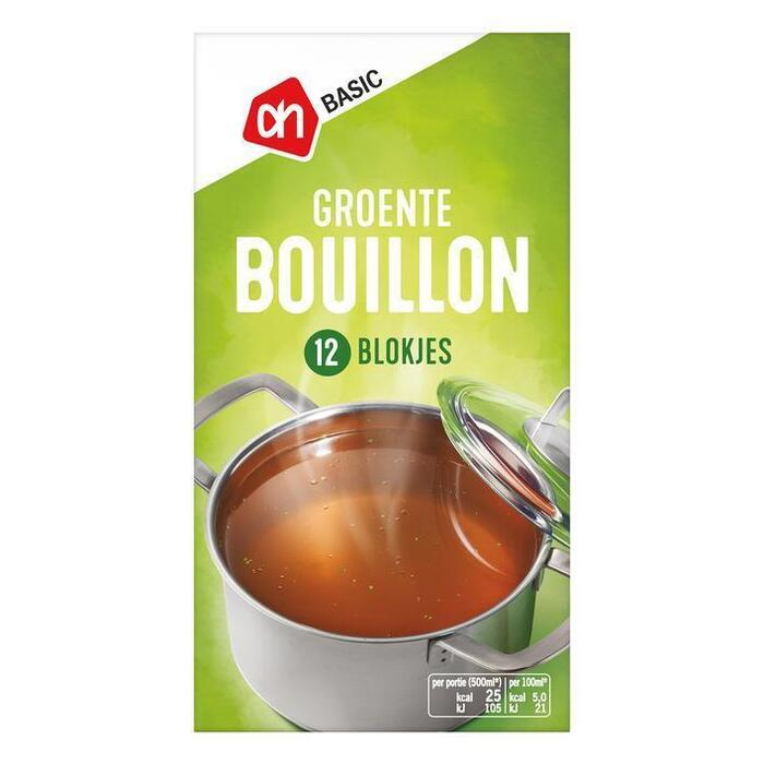 AH BASIC Vegetable bouillon (120g)