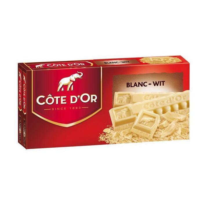 Cöte d'Or Tablet wit (2 × 200g)