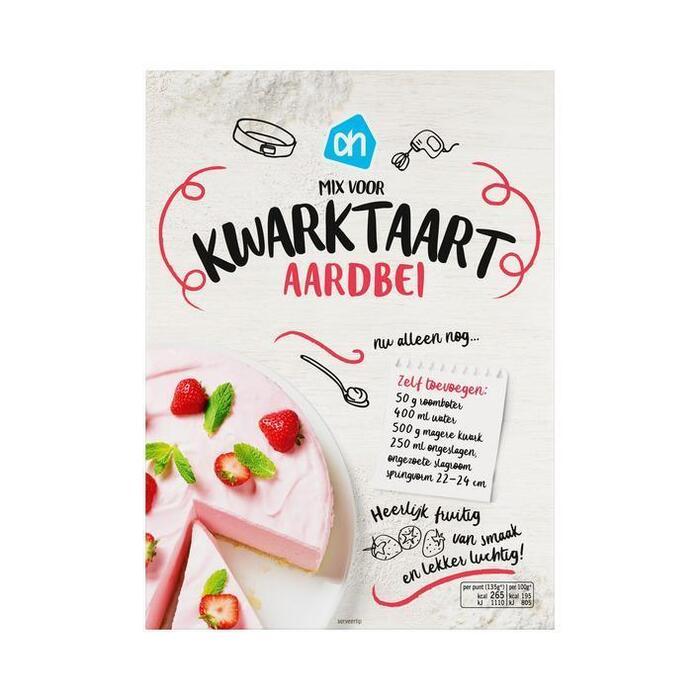 Mix voor kwarktaart aardbeien (400g)