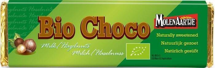 Melkchocolade met hazelnootstukjes (65g)