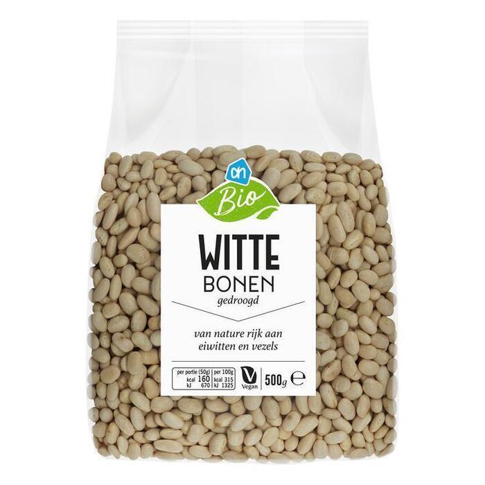 AH Biologisch Witte bonen (500g)