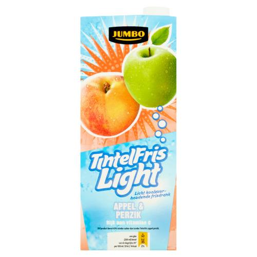 Jumbo TintelFris Light Appel & Perzik 1,5 L (1.5L)