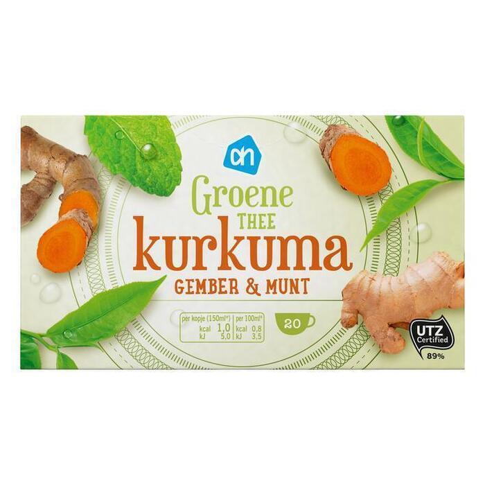 AH Groene thee kurkuma