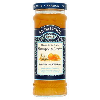 Sinaasappel & Gember Vruchtenspread (284g)